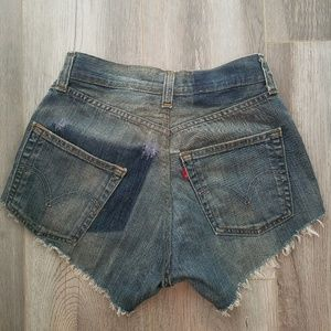 Levi's Urban Renewal High Waisted Shorts